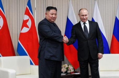 Путин: Визит Ким Чен Ына поможет урегулированию на Корейском полуострове
