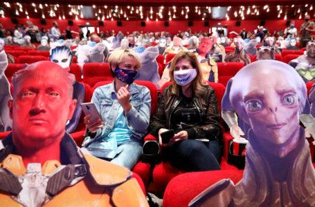 Кинотеатры Москвы после открытия в августе посетили лишь 13% жителей столицы