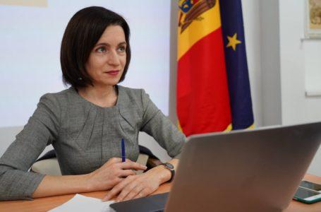Майя Санду заявила о намерении подписать указ о роспуске парламента Молдовы